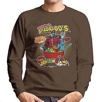 Psycho Crushers Shadaloos Cereal M Bison Street Fighter Men's Sweatshirt