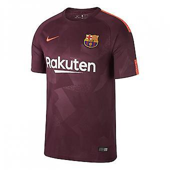 2017-2018 Barcelona terceira camisa de futebol Nike