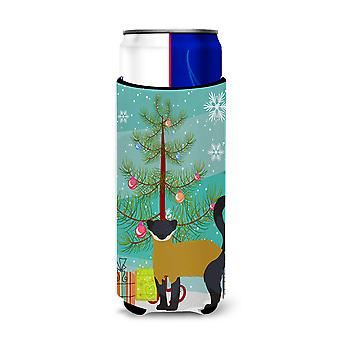 Yellow-Throated Marten Christmas Michelob Ultra Hugger for slim cans