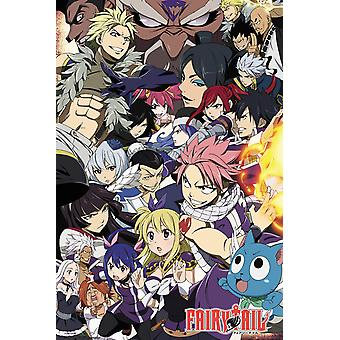 Fairy Tail temporada 6 chave Poster Art Maxi