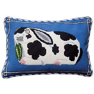 Staffordshire kanin kvar inför Needlepoint Canvas