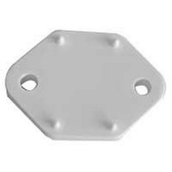 Fawo White Plastic Spacer For Door Retainer