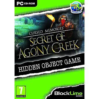 Förbannade minnen hemlighet av Agony Creek (PC DVD)-ny
