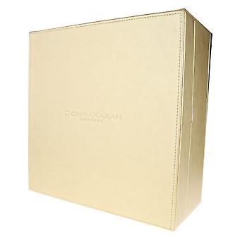 "Donna Karan Golden Coffret vide 9 ""X 9"" X 4 """
