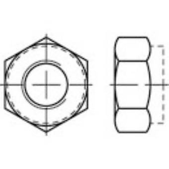 TOOLCRAFT 135400 Locknuts M3 DIN 985 teräs Sinkitty Sinkitty, keltainen chromated 100 PCs()