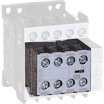 WEG BFC0-22 Auxiliary switch module Compatible with (relay brand): Weg 1 pc(s)