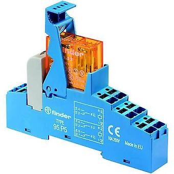 Finder 48. P5.7 024.0050. Relay component 1 pc(s) Nominal voltage: 24 V DC Switching current (max.): 8 A 2 change-overs