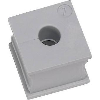 Icotek KT 15 Kabel Tülle geschlitzt Terminal Ø (max.) 16 mm Elastomer grau 1 PC