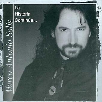 Marco Antonio Solis - La Historia Continua [CD] USA import