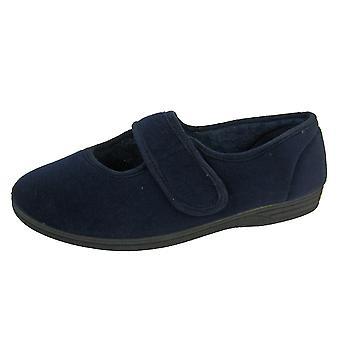 Coolers CosyComfort Womens Orthopaedic Velour Sandal Slipper