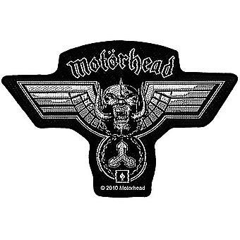 Motorhead martillado parche forma coser en tela