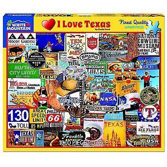 Ich liebe Texas 1000 Stück Jigsaw Puzzle 760 X 610 Mm