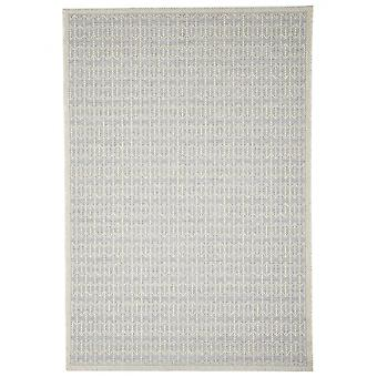 In - and outdoor carpet balcony / living room Skandi look silver grey 155 x 230 cm