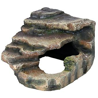 Trixie Corner Rock with Cave and Platform (Reptiles , Decoration , Caves & Rocks)