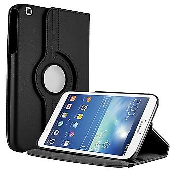 Unlimited Cellular Folio Case w/ Multi-Angle Stand for Galaxy Tab 3(8.0) - Black