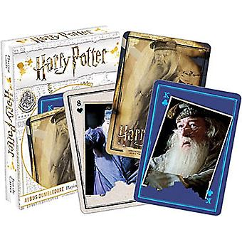 Harry Potter Dumbledore 52 cartes à jouer (+ Jokers)
