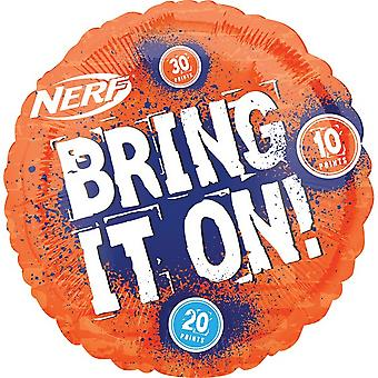Anagram 18in Nerf Round Foil Balloon