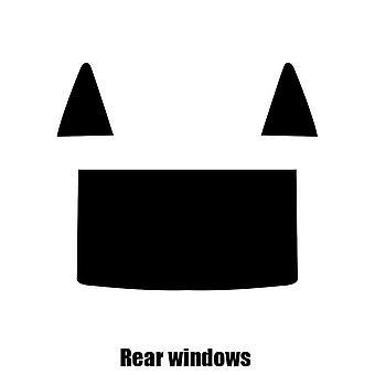 Pre cut window tint - Cadillac XLR - 2003 to 2007 - Rear windows