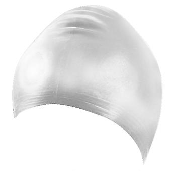 BECO Latex Adults Swimming Cap- White