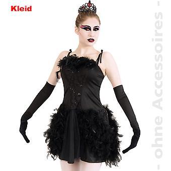 Cisne negro traje escuro princesa senhoras Primavera Tutu vestir traje de senhoras