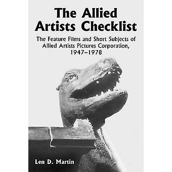 La liste de vérifications Allied Artists - les longs métrages et courts métrages de