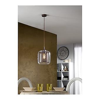 Schuller Traditional Chocolate Jar Ceiling Pendant 1 Light