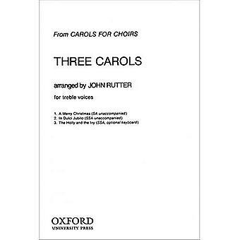Kolme joululauluja