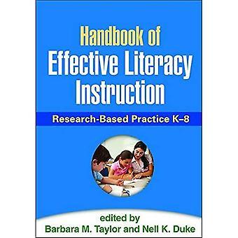 Handbok för effektiv läskunnighet instruktion: forskningsbaserad praktik k-8
