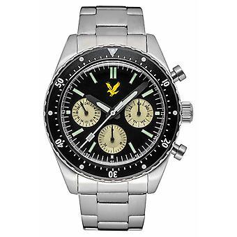 Lyle & Scott Mens Highland rostfritt stål armband Black Dial LS-6011-11 Watch
