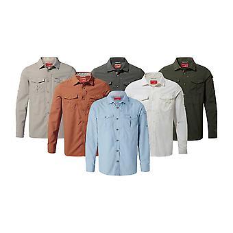 Craghoppers Mens NL Adv långärmad skjorta
