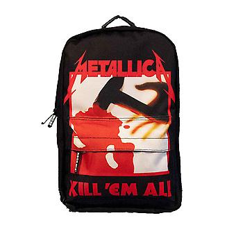 Metallica Backpack Kill Em All Band Logo new Official Black Rucksack