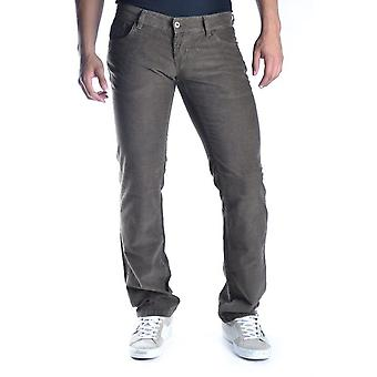 John Richmond Ezbc082074 Men's Brown Cotton Jeans