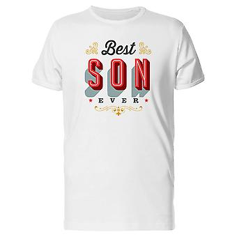 Best Son Ever Lettering Tee Men's -Image by Shutterstock