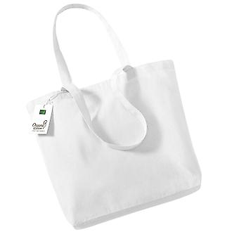 Westford Mill Organic Cotton Shopper Bag - 16 Litres (Pack of 2)