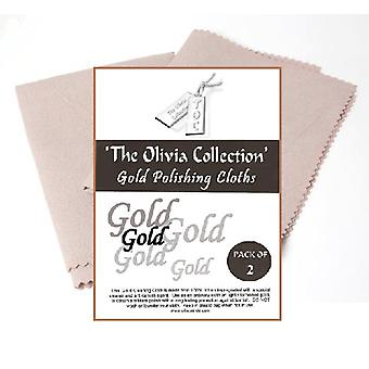 TOC Gold Jewellery Anti Tarnish Cleaning & Polishing Cloth X 2, 220mm x 315mm