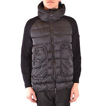 Peuterey Ezbc017113 Men's Black Wool Down Jacket