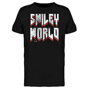 SmileyWorld Rock Heavy Metal Lettering Men's T-shirt