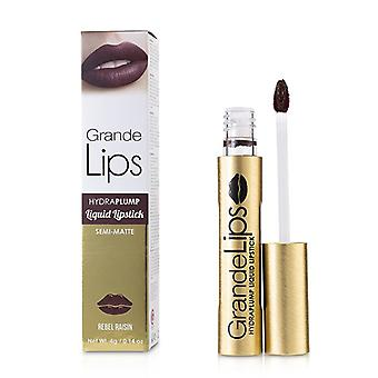 Grandelash Grandelips Plumping Liquid Lipstick (semi Matte) - # Rebel Raisin - 4g/0.14oz