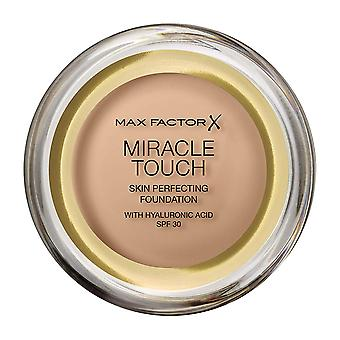 2 x Max Factor Miracle Touch Skin Perfecting Foundation SPF30 - 48 Golden Beige