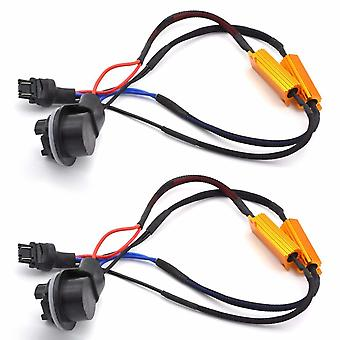 2x 3157 P27/7W T25 Decoder resistor problem solver CANbus
