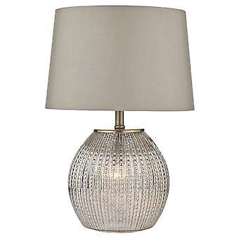 Sonia pöytä lamppu antiikki hopea täydellisenä sävy Dual Source