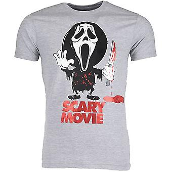 T-Shirt-Scary Movie-Grey