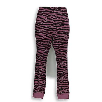 Anybody Women's Petite Lounge Pants MP Loungewear Cozy Waffle Purple A345788