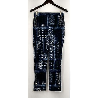 Slimming Options for Kate & Mallory Leggings Pull On 2 Waistband Blue A434323