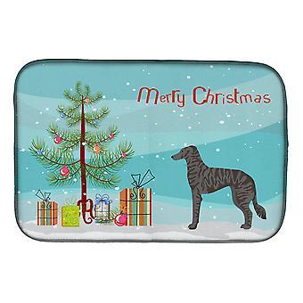 Carolines Treasures CK3849DDM Longdog Christmas Tree Dish Secado Mat