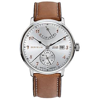 Zeppelin hindenburgh ed.1 Automatic Analog Men's Watch with Cowhide Bracelet 7062-5