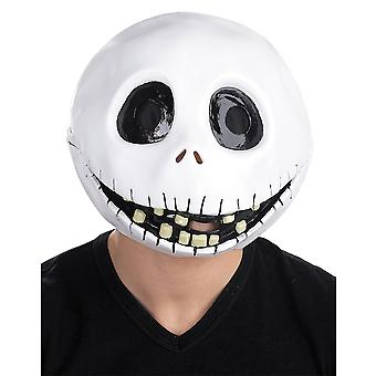 Jack Skellington The Nightmare Before Christmas Men Costume Deluxe Overhead Mask