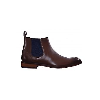 Ted Baker Mens marrone Domenico pelle Chelsea Boot