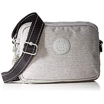 Kipling Silen - Grey Women's Shoulder Bags (Chalk Grey) 24x18x11cm (B x H T)