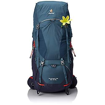 Deuter Aircontact Lite 60 - 10 SL - Unisex-Adult Backpack - Turquoise (Arctic/Navy) - 24x36x45 centimeters